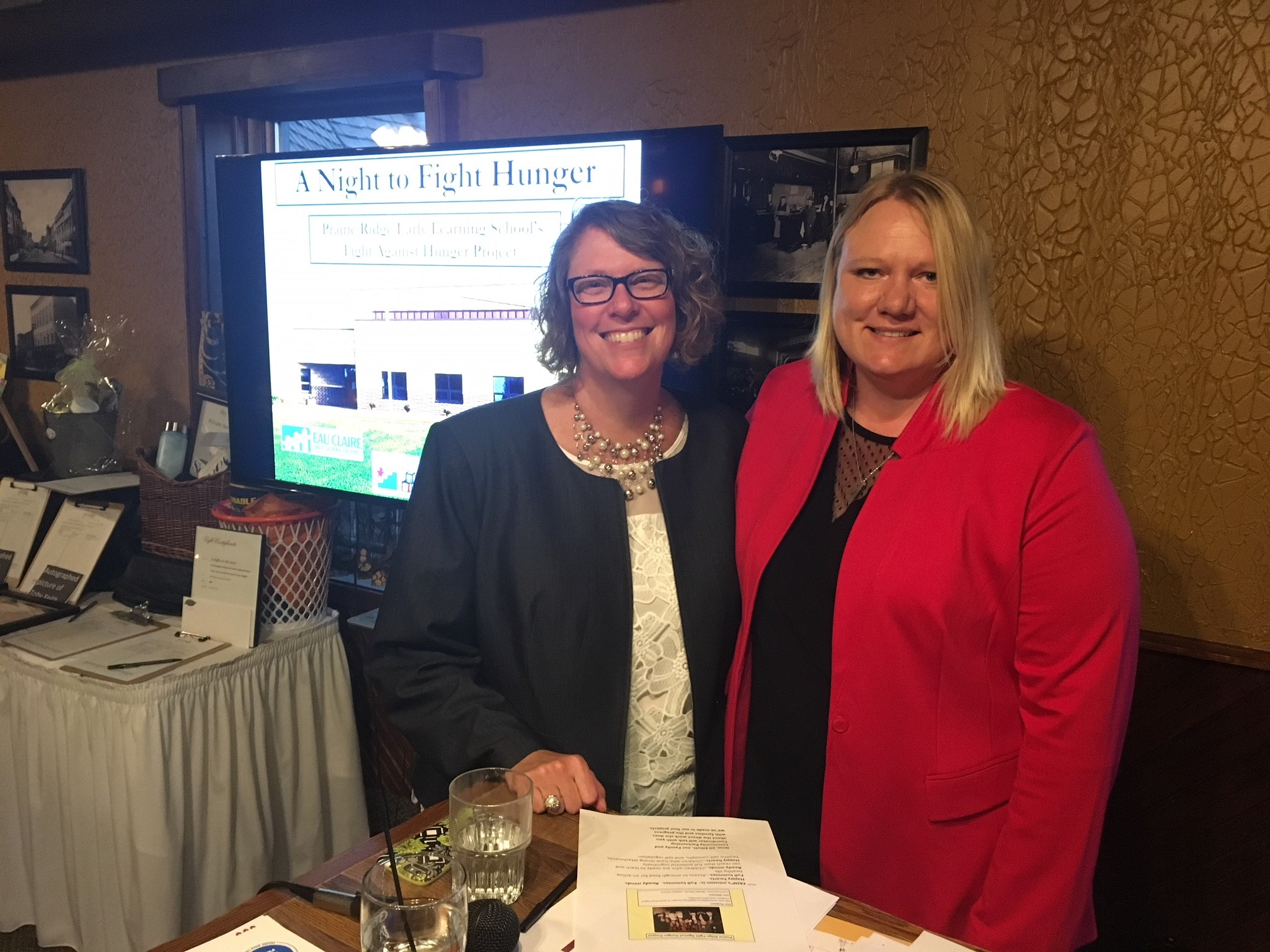 Community members from across the Chippewa Valley came together Thursday  April 26 evening at Houligan's Steak & Seafood Pub ...